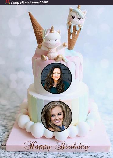 unicorn-birthday-cake-with-2-pictures